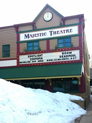 Majestic Theater Winter2
